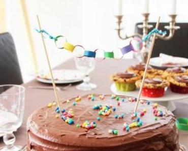 Piñata Chocolate Cake for my Birthday girl