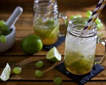 Trauben-Limetten-Limonade