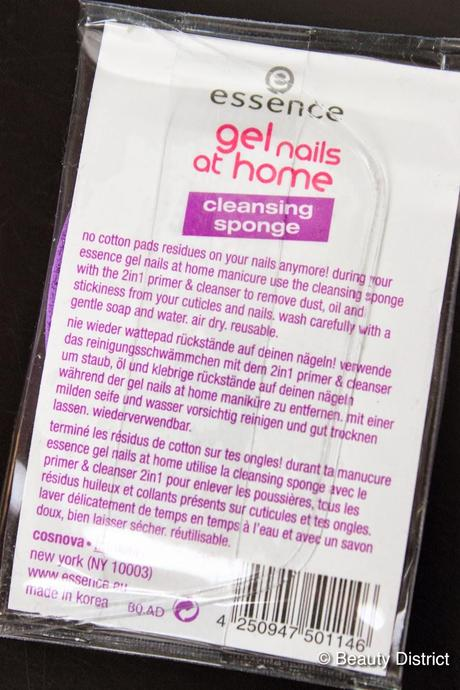 essence Cleansing Sponge