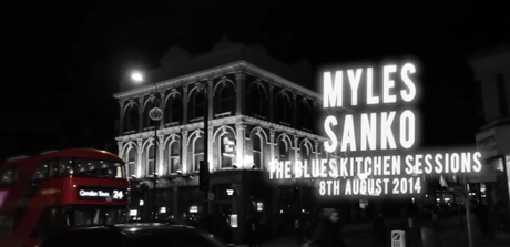 Myles Sanko- 'High On You' & 'Forever Dreaming' Live [The Blues Kitchen Sessions]