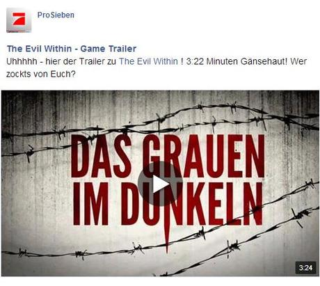 evil Gronkh, Sarazar, Sgt Rumpel: The Evil Within TV Spot