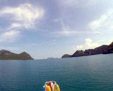 Kajaktour zur Insel Koh Mae Koh mit dem Emerald Lake