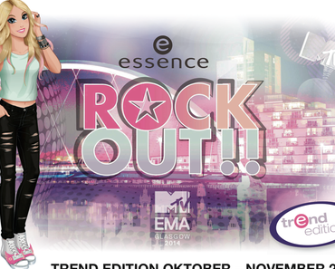 """[Swatch & erster Eindruck] essence """"Rock Out!!"""" LE*"""