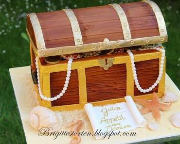 Meine Schatztruhe hat im Bundes Cake Contest 214 den Titel geholt!