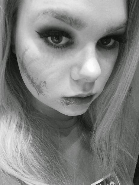 [Halloween Look] Scratched face