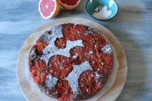 LA VEGANISTA BACKT… Grapefruitkuchen!