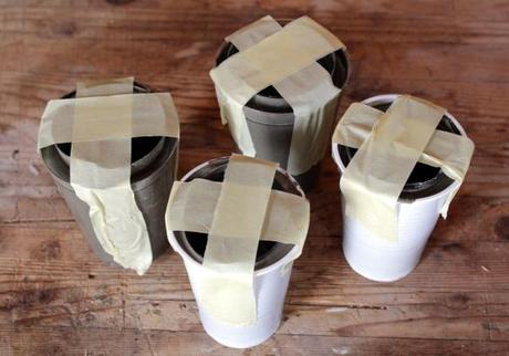diy h o m e h bsche vasen aus beton buchtipp f r alle die gern aus altem was neues machen. Black Bedroom Furniture Sets. Home Design Ideas