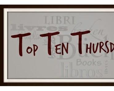 Deine 10 liebsten Autoren/Autorinnen – TTT