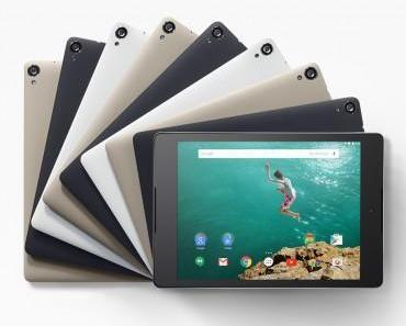 Google Nexus 9 : Neues Nexus Tablet vorgestellt – Hier vorbestellen