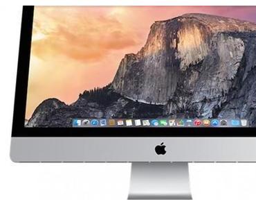 Retina iMac mit 5K Display (5120×2880 Pixel), 4GHz i7, Thunderbolt 2 ab 2599 Euro