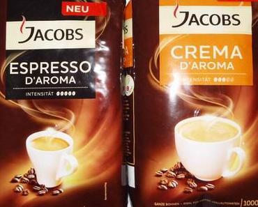 Jacobs Crema D'Aroma & Jacobs Espresso D`Aroma konnte mich nicht überzeugen