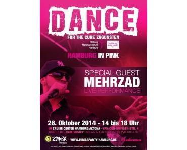 Zumba-Mega-Event mit Show und Livemusik für den Kampf gegen Brustkrebs