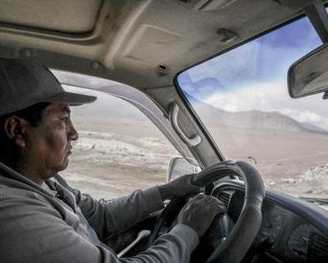 Surrealität im bolivianischen Altiplano