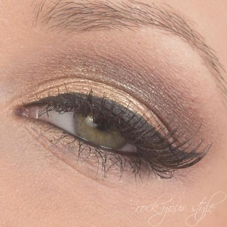 [Amu] Gold and Brown Smokey Eyes