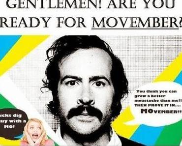 Der Movember kommt - Gegen Prostata- und Hodenkrebs