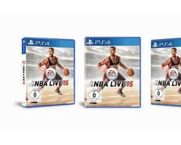 NBA LIVE 15 ist ab sofort im Handel erhältlich