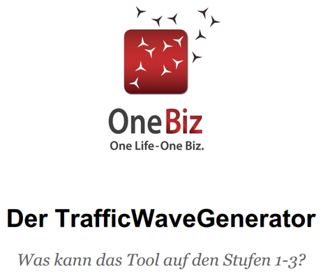 Was kann der Traffic Wave Generator?
