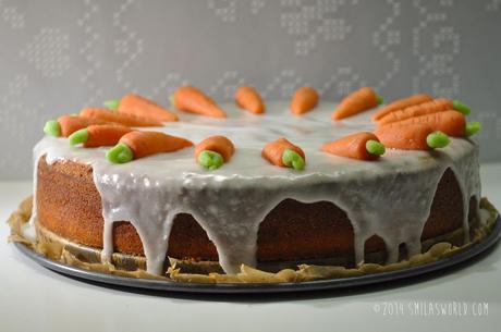 carrot cake m hren kuchen. Black Bedroom Furniture Sets. Home Design Ideas