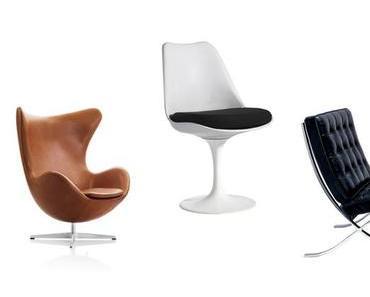 Design des 20. Jahrhunderts: Berühmte Sitzgelegenheiten