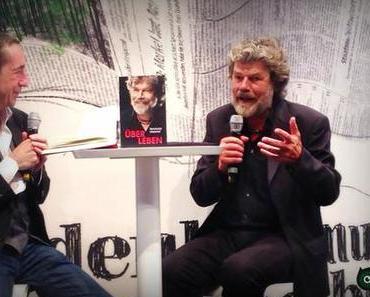 Ein 'Üb Erlebenskünstler' auf der Buchmesse