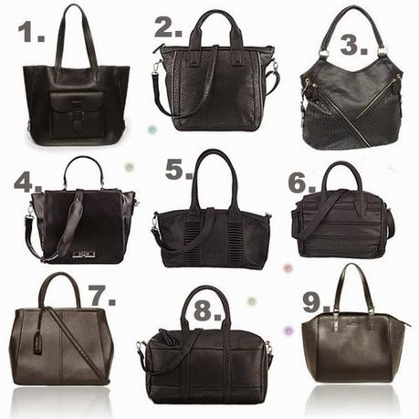 Wishlist: Black bag for school
