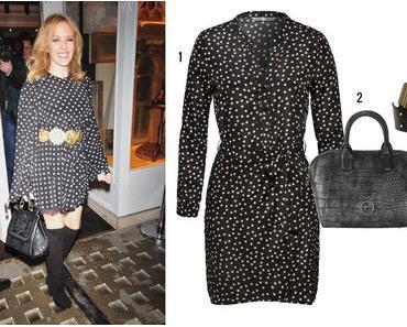 Kylie Minogues Herbstlook