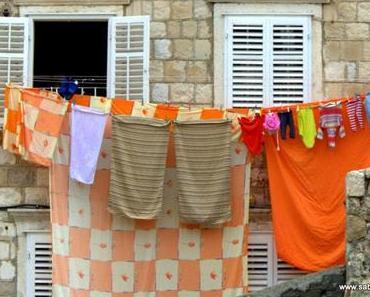 Waschtag in Dubrovnik – Fotoprojekt Fensterblick #94