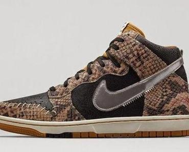 "Nike Dunk CMFT PRM QS ""Snakeskin""/""Crocodile Dundee"""