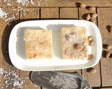 Familienrezept: saftiger Buttermilchkuchen mit zweierlei Guss