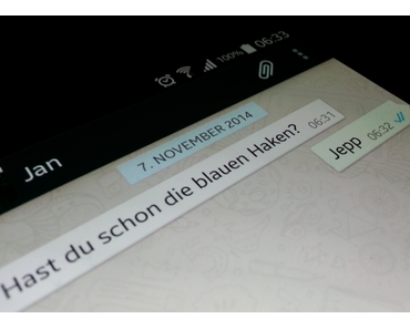WhatsApp bekommt Lesebestätigung