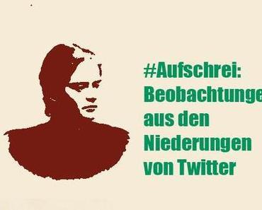 #Aufschrei: Beobachtungen aus den Niederungen von Twitter