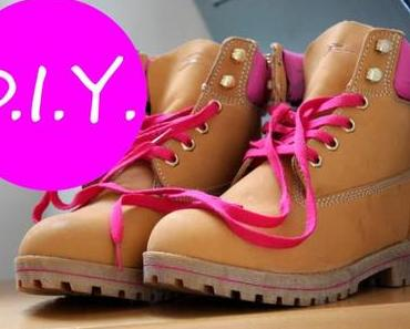 DIY: Pimp your Boots (Farbe für mehr Personality)