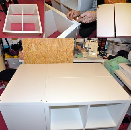 ikea kallax hack schneidetisch deluxe. Black Bedroom Furniture Sets. Home Design Ideas