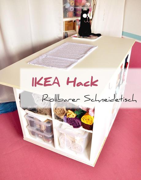 ikea kallax hack schneidetisch deluxe. Black Bedroom Furniture Sets. Home Design Ideas
