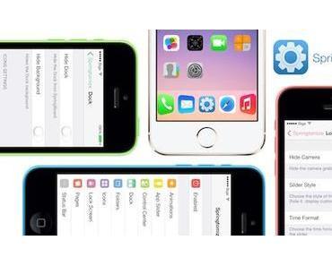 Jailbreak Tweak: Springtomize 3 für iOS 8 und 8.1 in Cydia verfügbar
