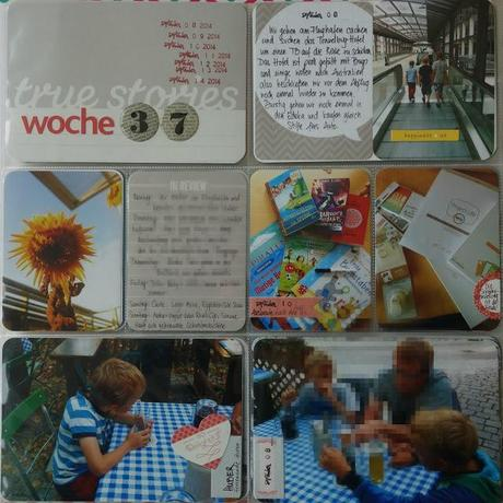Project Life: Wochen 36, 37, 38