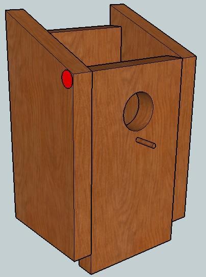 bauanleitung f r einen nistkasten. Black Bedroom Furniture Sets. Home Design Ideas