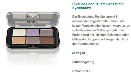 %22Glam Sensation%22 Eyeshadow