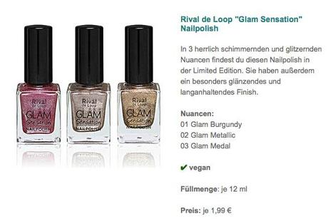 %22Glam Sensation%22 Nailpolish