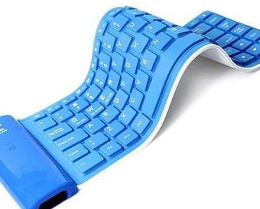 Roll-Up Tastatur für das Samsung Galaxy S2