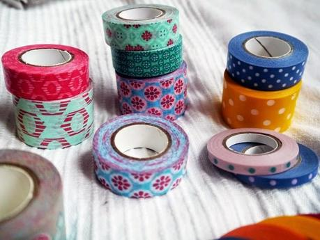 New in: Aquarell Stifte & Masking Tape by Tchibo
