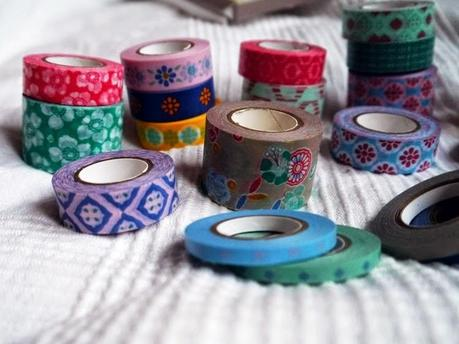 new in aquarell stifte masking tape by tchibo. Black Bedroom Furniture Sets. Home Design Ideas