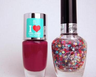 """[NOTD] Rival de Loop Young """"I love Gel Like Nailpolish"""" LE """"Berry, Berry Lady"""" & Wet'n'Wild """"Fergie"""" LE """"Hollywood Walk of Fame"""""""
