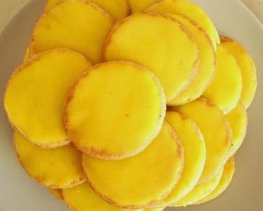 Zitronenkekse aus Mürbeteig