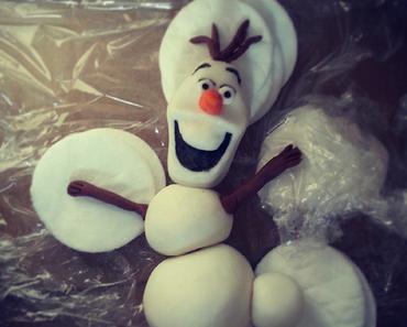 Olaf, der Schneemann – aus Fondant
