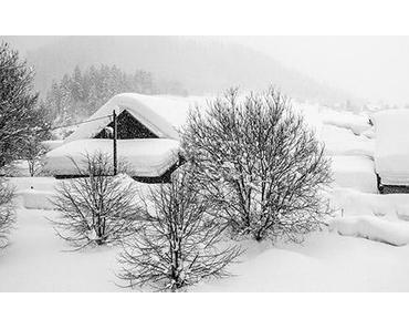 Bild der Woche: Schneeloch Mariazellerland ?!