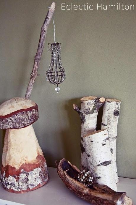 winterkomposition mit birke und eklektischen besonderheiten. Black Bedroom Furniture Sets. Home Design Ideas