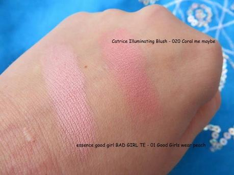 essence blush - 01 Good Girls wear Peach (good girl BAD GIRL TE)