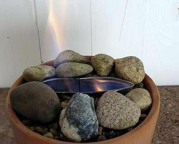 Anleitung: Tischkamin (Tischfeuer) selbst gebaut