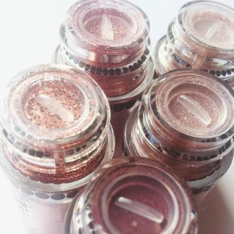 MAC OBJECTS OF AFFECTION Rose + Pink  Pigments + Glitter